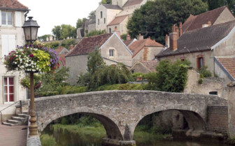Hilly village