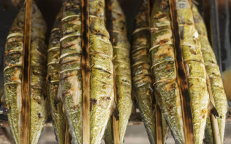 Grilled Fish in Kep