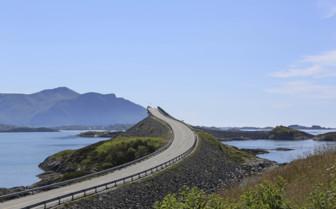 Winding Atlantic Road