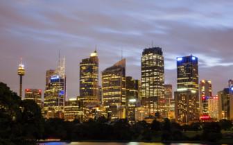 Sydney Cityscape at Night