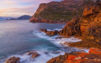 Sleepy Bay in Tasmania