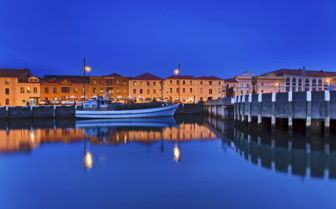 Hobart Harbour by Night