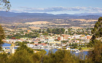 View of Launceston from a Distance