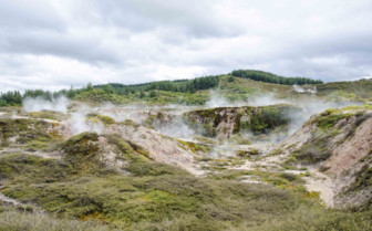Craters of the Moon in Taupo