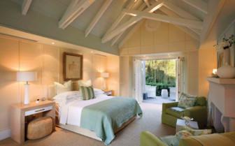 A Bedroom at Huka Lodge