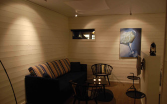 A Seating Area at Salt & Sill
