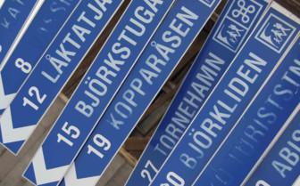Riksgransen Signage