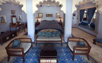 Suite at Rawla Narlai, luxury hotel in India