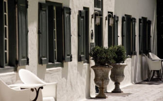Exterior Entrance of Grande Provence