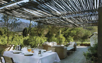 Outdoor Dining Terrace