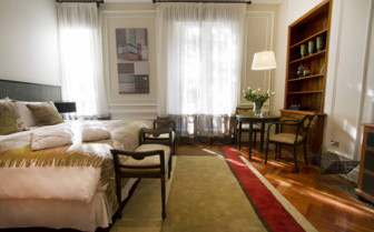 A Double Bedroom at Lastarria