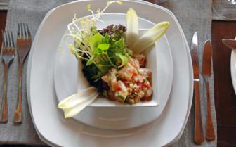 Ceviche at EQ Restaurant