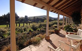 View from the Balcony at La Casona
