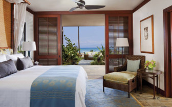 Suite at Four Seasons Resort Hualalai, luxury hotel in Hawaii