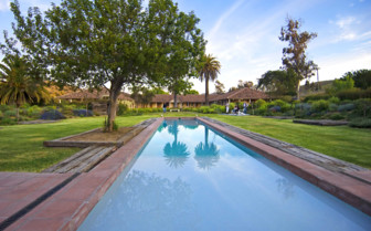 The Pool at La Casona in the Central Valley