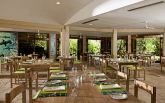 The Eco-Hotel Dining Room