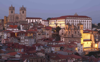 Sunsetting over Porto