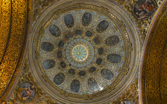 Domed Church Ceiling