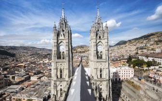 Basilica del Voto Nacional in Quito