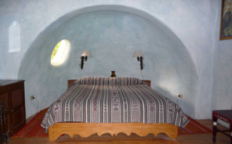 Bed in an Alcove at Hacienda Cusin