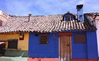Colourful Traditional Homes