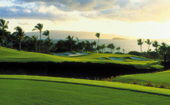 Golf courses at Four Seasons Resort Maui at Wailea, luxury hotel in Hawaii