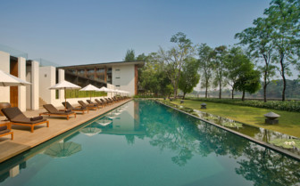 The Pool at the Anantara Chiang Mai