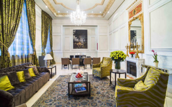Modernised Neo-Classical Sitting Room