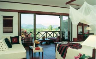 Bedroom and Glass Doors
