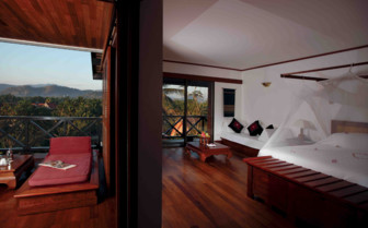 Bedroom and View