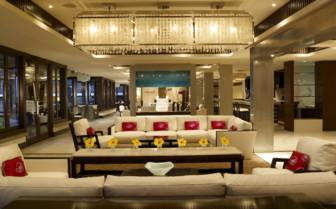 The lounge area at Koa Kea