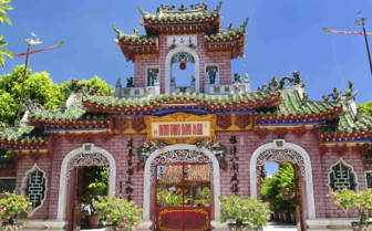 Temple in Hoi An