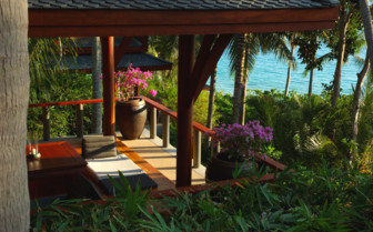 Terrace with Views over the West Thai Coast