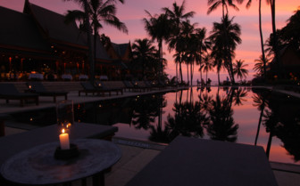 Evening at the Pool - Phuket
