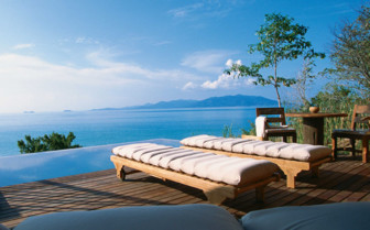 Sea View from an Infinity Pool