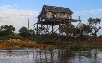 House on Stilts in Siem Reap
