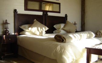Bedroom at Desert Homestead