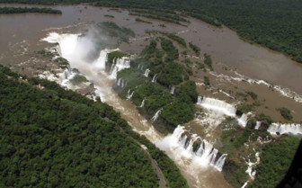 Aerial View of Iguacu