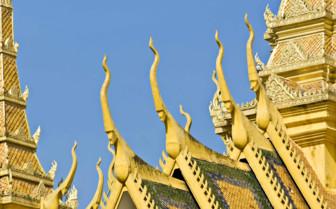 Golden Rooftop Detail