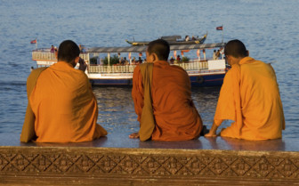 Monks on the Riverfront