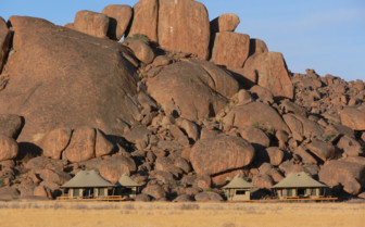 Wolwedans Boulder, luxury camp in Namibia