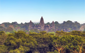 Angkor Wat seen from the Air