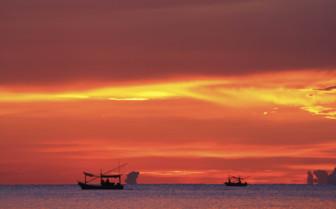 Coastal Sunset - Cambodia