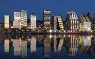 Oslo Cityscape at Night