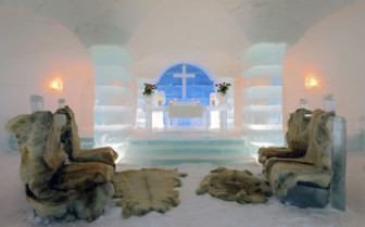 Ice Church - Alta