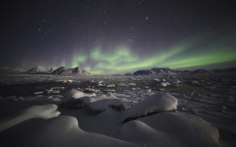 The Aurora Borealis - Arctic Circle