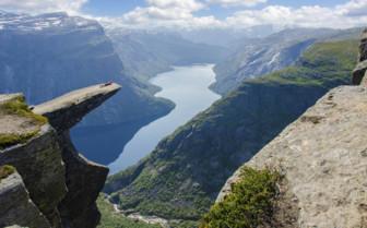 Craggy Fjord Outcrop
