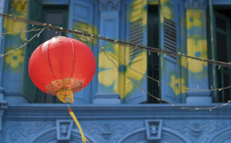 Red Lantern in Chinatown