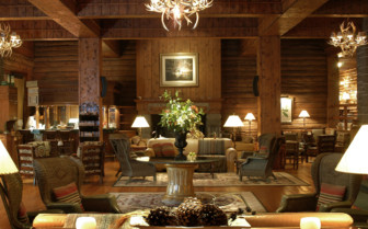Living Area of Hotel
