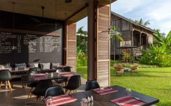 Restaurant at Sala Lodges - Siem Reap